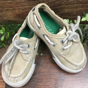 NAUTICA Slip On Boat Deck Lace Up Loafers